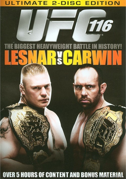 UFC 116: Lesnar Vs. Carwin - Ultimate 2 Disc Edition Movie