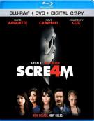 Scream 4 (Blu-ray + DVD Combo) Blu-ray