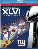 NFL Super Bowl XLVI Champions: 2011 New York Giants Blu-ray