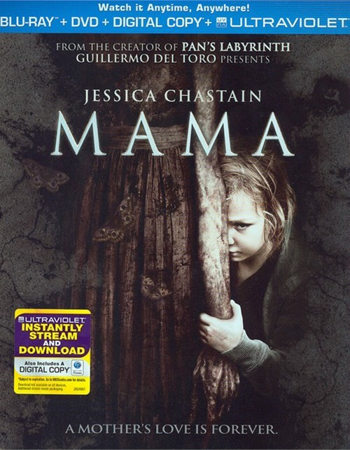Mama (Blu-ray + DVD + Digital Copy + UltraViolet) Blu-ray