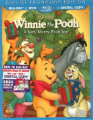 Winnie The Pooh: A Very Merry Pooh Year - 2013 Special Edition (Blu-ray + DVD + Digital Copy) Blu-ray