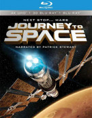 Journey To Space (4K Ultra HD + 3D Blu-ray + Blu-ray) Blu-ray