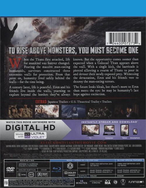 Attack on titan movie release date in Sydney