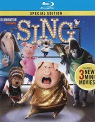 Sing (4K Ultra HD + Blu-ray + UltraViolet)   Blu-ray