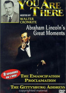 You Are There: Abraham Lincolns Greatest Moments Movie