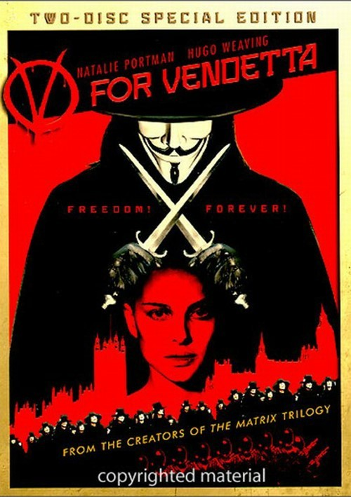 V For Vendetta: Special Edition Movie