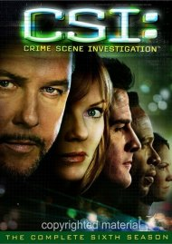 CSI: Crime Scene Investigation - The Complete Sixth Season Movie