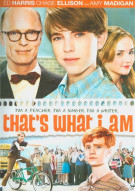 Thats What I Am Movie