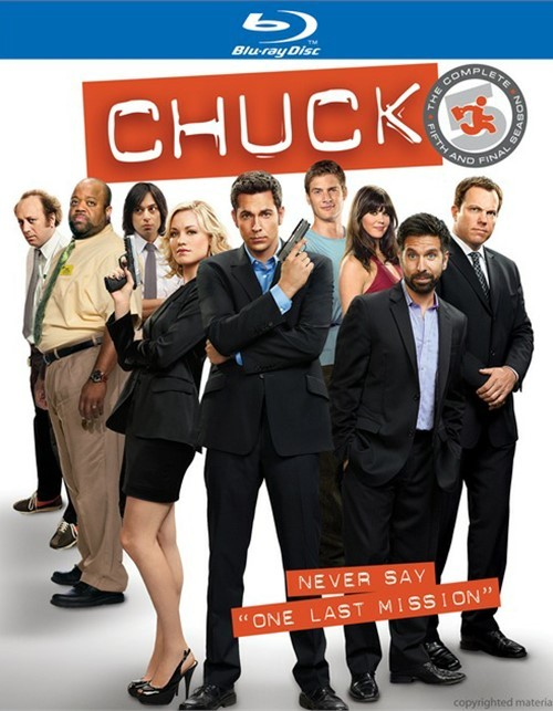 Chuck: The Complete Fifth Season Blu-ray