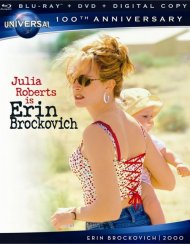 Erin Brockovich (Blu-ray + DVD + Digital Copy) Blu-ray