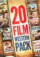 20 Movie Western Pack Movie