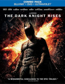 Dark Knight Rises, The (Blu-ray + DVD + UltraViolet) Blu-ray