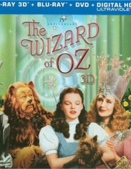 Wizard Of Oz 3D, The: 75th Anniversary Collectors Edition (Blu-ray 3D + Blu-ray + DVD + UltraViolet) Blu-ray