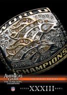 NFL Americas Game: 1998 Denver Broncos Super Bowl XXXIII Movie