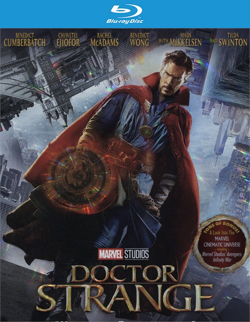 Marvels Doctor Strange (Blu-ray + DVD Combo + Digital HD) Blu-ray