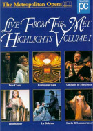 Metropolitan Opera, The: Live From The Met - Highlights Volume 1 Movie