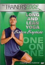 Trainers Edge, The: Long & Lean Yoga With Baron Baptiste Movie