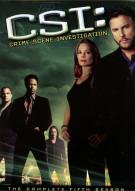 CSI: Crime Scene Investigation - The Complete Fifth Season Movie