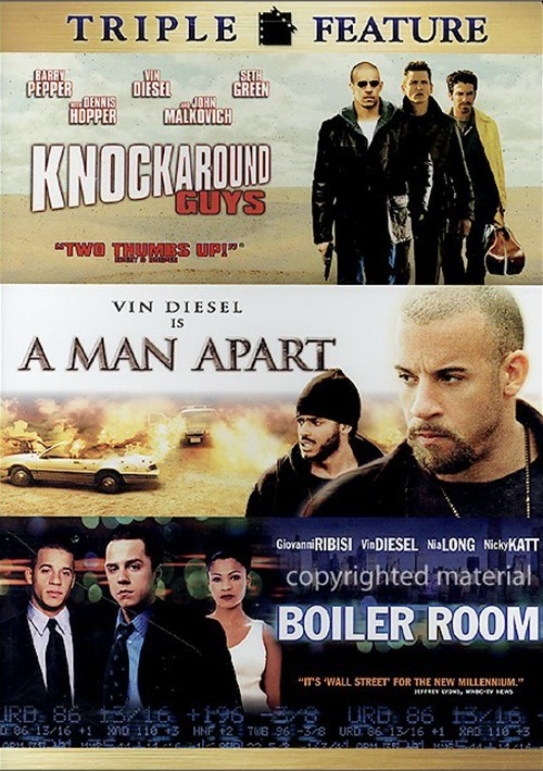 Knockaround Guys / A Man Apart / Boiler Room (Triple Feature) Movie