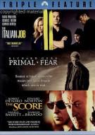Italian Job, The / Primal Fear / The Score (Triple Feature) Movie