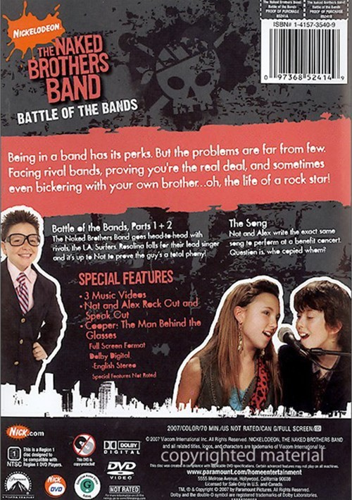 naked brothers band dvd