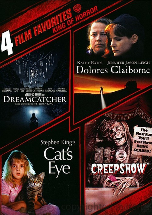 4 Film Favorites: King Of Horror Movie