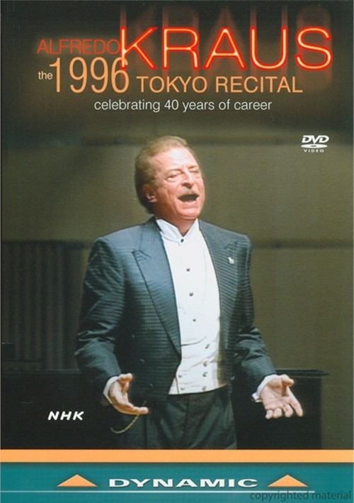 Alfredo Kraus:The Royal Tokyo Recital Movie