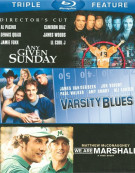Football: Triple Feature Blu-ray