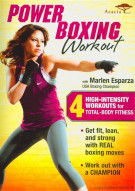 Power Boxing Workout With Marlen Esparza Movie