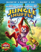Jungle Shuffle (Blu-ray 3D + Blu-ray + DVD + UltraViolet) Blu-ray