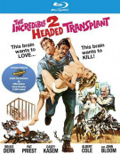 Incredible 2-Headed Transplant, The Blu-ray