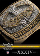 NFL Americas Game: 1999 St. Louis Rams Super Bowl XXXIV Movie