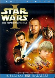 Star Wars Episode I: The Phantom Menace (Fullscreen) Movie