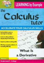 Calculus Tutor, The: What Is A Derivative? Movie