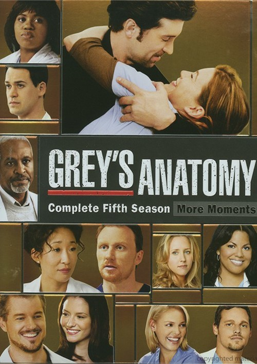 Greys Anatomy: Season Five - More Moments Movie