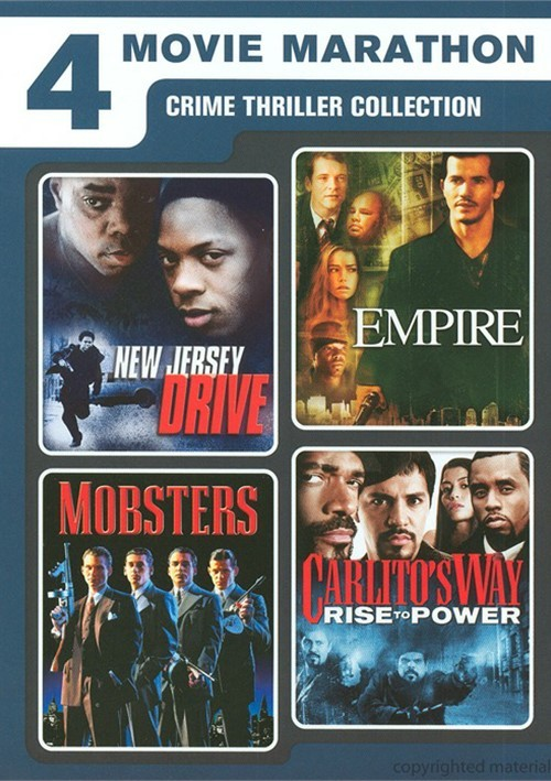 4 Movie Marathon: Crime Thriller Collection Movie