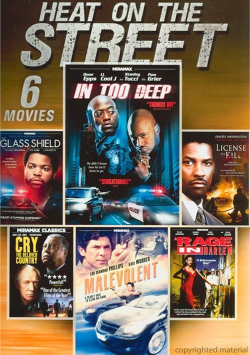 6 Movie Pack: Heat On The Street Movie