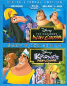 Emperors New Groove, The / Kronks New Groove: 2 Movie Collection (Blu-ray + DVD Combo) Blu-ray