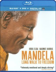 Mandela: Long Walk To Freedom (Blu-ray + DVD + UltraViolet) Blu-ray