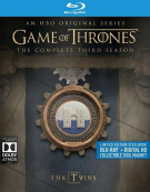 Game Of Thrones: The Complete Third Season (Steelbook + Blu-ray + UltraViolet) Blu-ray