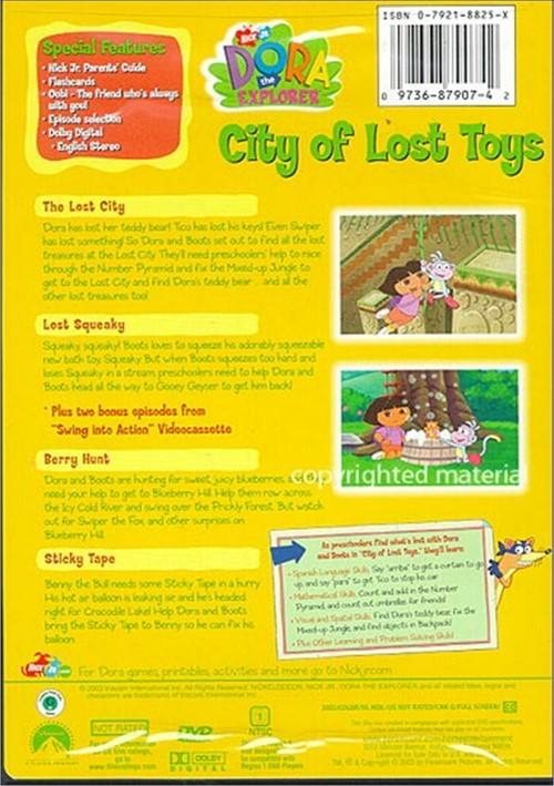 Dora The Explorer: City Of Lost Toys (DVD 2003) | DVD Empire