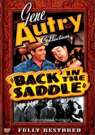 Gene Autry Collection: Back In The Saddle Movie
