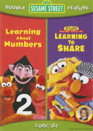 Sesame Street: Learning To Share / Learning About Numbers (Double Feature) Movie