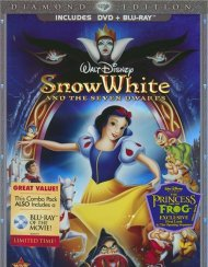 Snow White And The Seven Dwarfs (DVD Case) Blu-ray