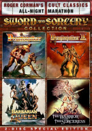 Deathstalker / Deathstalker II / The Warrior And The Sorceress / Barbarian Queen (Sword And Sorcery Collection) Movie