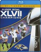 NFL Super Bowl XLVII Champions: 2012 Baltimore Ravens Blu-ray