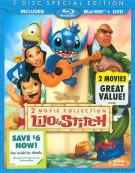 Lilo & Stitch: 2 Movie Collection (Blu-ray + DVD Combo) Blu-ray