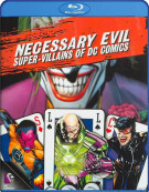 Necessary Evil: Villains Of DC Comics Blu-ray