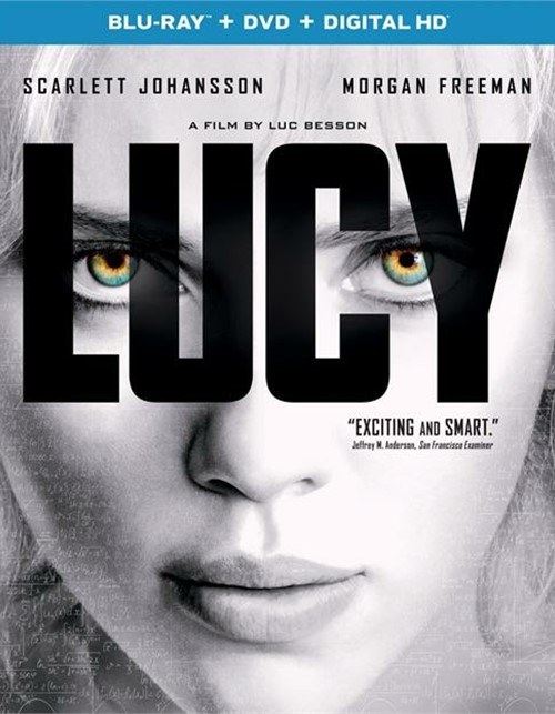 Lucy (Blu-ray + DVD + UltraViolet) Blu-ray