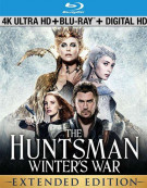 Huntsman, The: Winters War (4K Ultra HD + Blu-ray + UltraViolet) Blu-ray
